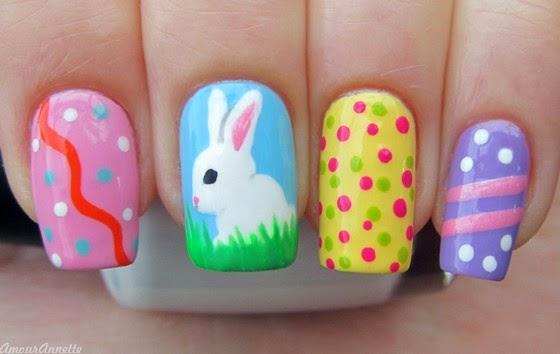 Nail Art Inspiration Pasen