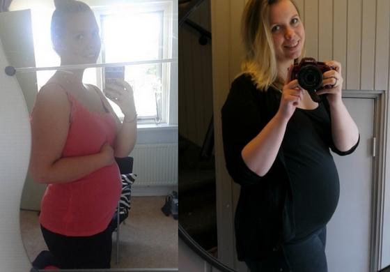 16 weken zwanger buik