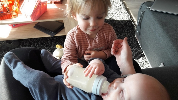 stoppen borstvoeding