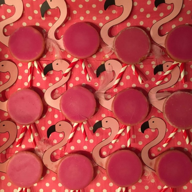 flaminco roze koek