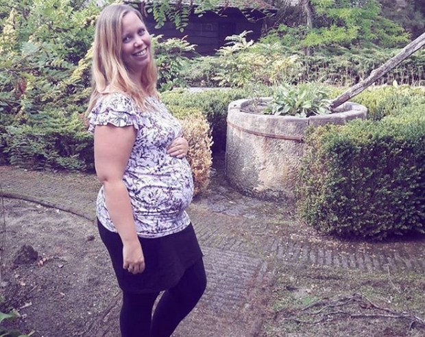 18 weken zwanger buik