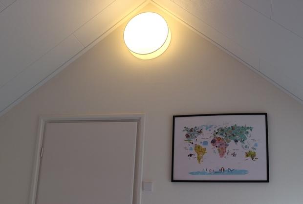 lamp zolder