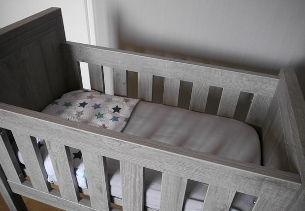 wiegje op eigen slaapkamer