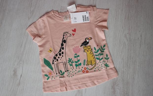 t-shirt baby h&m