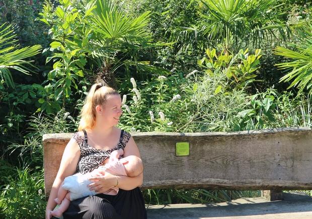 borstvoeding derde kindje
