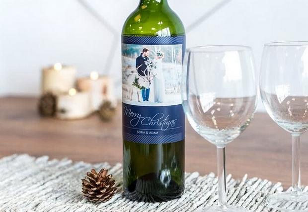 wijnfles foto