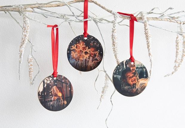 kerstballen met foto