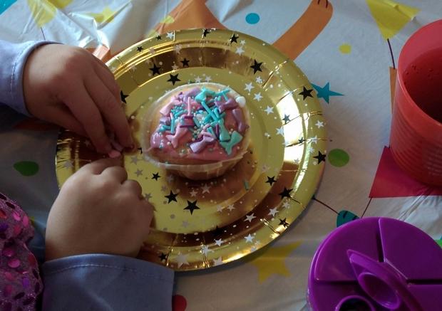 zeemeerminnen cupcake